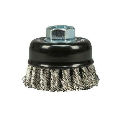 2-3/4 In. X 0.020 In. X 5/8 In. 11 Arbor Stainless Knotted Cup Brush
