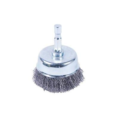 2 In. X 1/4 In. Shank Fine Crimped Cup Brush
