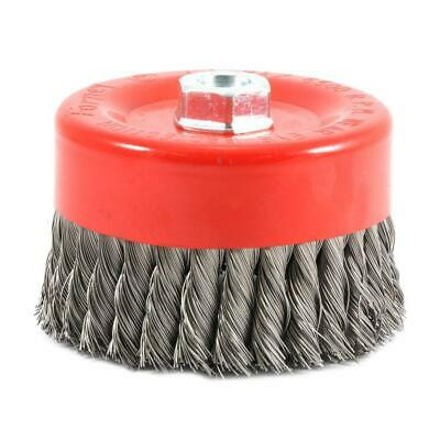 6 In. X 5/8 In.-11 Threaded Arbor Knotted Wire Cup Brush