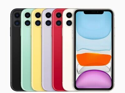 Apple iPhone 11 Verizon AT&T T-Mobile GSM Factory Unlocked Smartphone Cell Phone