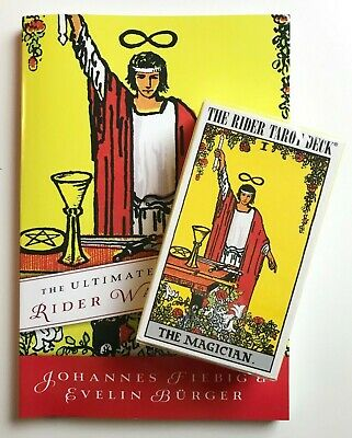 NEW SEALED 1971 The Rider THE MAGICIAN TAROT DECK and ULTIMATE GUIDE Smith Waite