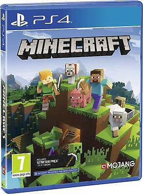 Minecraft Bedrock Edition PS4 NEW DISPATCHING TODAY ALL ORDERS PLACED BY 2 P.M.