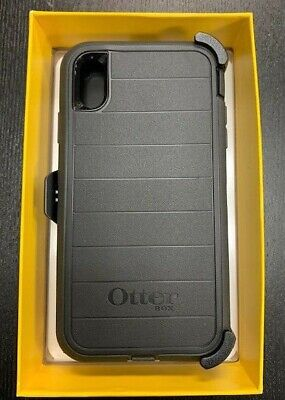 Otterbox Defender Pro Series Case for Apple iPhone XS Max with Holster Black