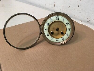 Antique French Mantle Clock Movement Tilden Thurber Providence Japy Era