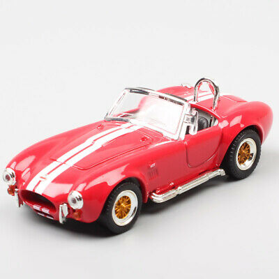 Ford Usa Shelby Ac Cobra 427 S//C 1964 Silver Lucky Diecast 1:18 LDC92058S