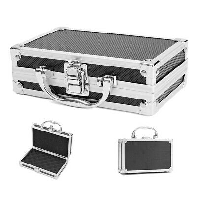 Tool Box Aluminum Alloy Carry Case Durable Storage Hard Carry Organiser Portable