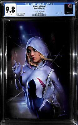 Spider-Gwen Ghost Spider # 1 Shannon Maer Virgin Variant limited to 1000 CGC 9.8