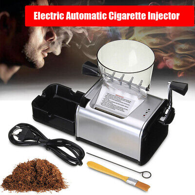 8mm Tube Electric Cigarette Rolling Maker Automatic Injector Machine with Hopper