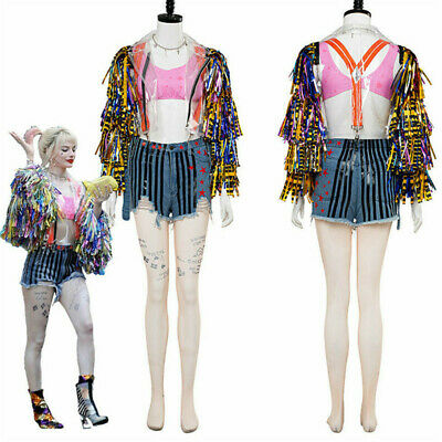 2020 Birds of Prey Fantabulous Emancipation of One Harley Quinn Cosplay Costume