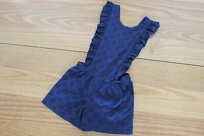 Seed Girls Navy Blue Playsuit Size 10