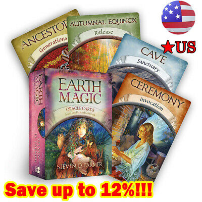 Magic Oracle Cards Earth Magic Read Fate Tarot 48-card Deck Set BEST SALE 2020