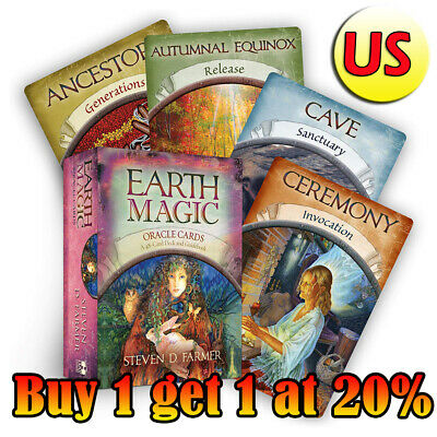 Magic Oracle Cards Earth Magic Read Fate Tarot 48-card Deck Set BEST SALE NEWEST