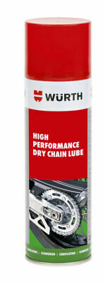WURTH High Performance Dry Chain Lube Road Motorcycle 500ml