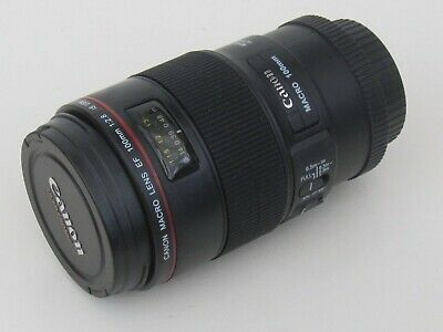 """Dummy """"Canon"""" Macro EF 100mm f2.8 IS L USM Lens - Shop Display Item 1:1 Scale"""