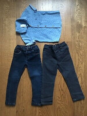 Next boys jeans 2-3 And Shirt Age 2