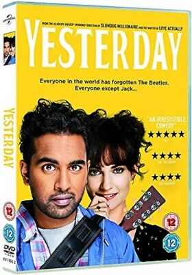 Yesterday-DVD movie -Watched once