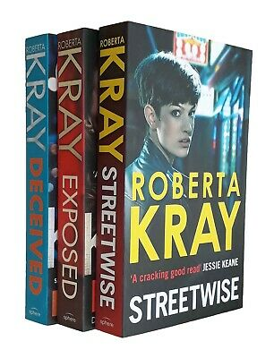 Roberta Kray 3 Books Deceived Streetwise Exposed Thriller Mystery Novel  New