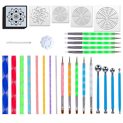 Mandala Dotting Tools for Painting Rocks Mandala Painting Dotting Stencil Dot