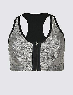 M&S High Impact Sports Bra 32F Non-Wired New with Tags