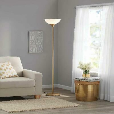 Floor Lamp Living Room Light Stand Torchiere Home Decor Shade Reading Metal 71""
