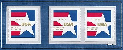 *NEW* Presorted Star Std (Coil Sgl & Pair - Set of 3) 2020 MNH - *In Stock*