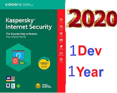 KASPERSKY Internet Security  2020  1 Pc 1 Year  ⚡️ Global Key Activation  ⚡️  -