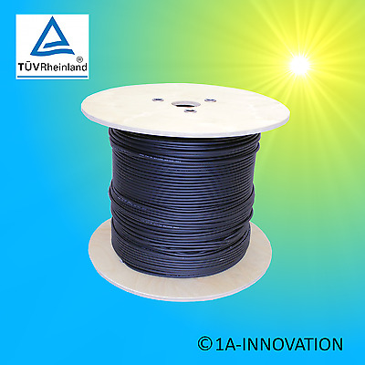 ICC Solar PV1-F Cable 4 mm² per metre Double Insulated PV