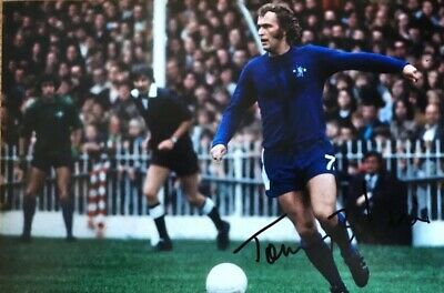 Chelsea Tommy Baldwin Original Hand Signed Photo 30x20cm With COA.