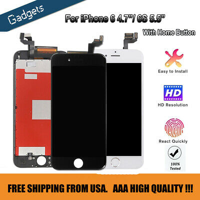 """4.7"""" for iPhone 6 6S LCD Full Screen Digitizer Replacement Touch Camera & Button"""