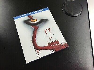 It Chapter Two  ( Blu-Ray + Dvd+ Digital Code ) Brand New Sealed