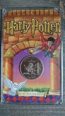 """Harry Potter - Isle of Man - Legal Tender Coin """"Quidditch"""""""