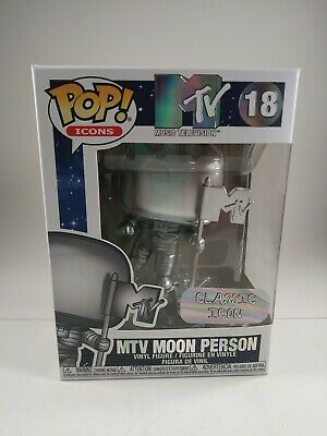 Funko - POP Icons: MTV - Moon Person 18 NIB