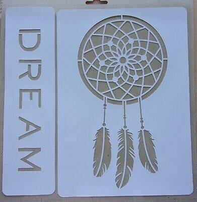 2 Stencils Fancy/Catcher Dreams and Dream