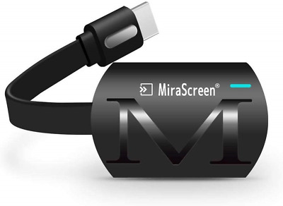 WiFi Display Dongle, MiraScreen 2.4G Wireless HDMI Adapter 1080P HD TV Stick for