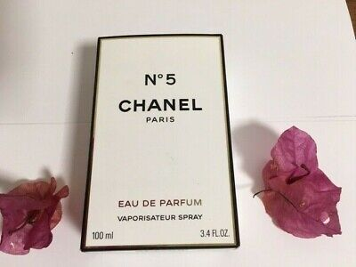 New Authentic Chanel No 5 EAU DE PARFUM Spray 3.4 FL.OZ.