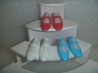 Light Purple Mary Janes For Flat Footed Poseable Dolls /& Jazzie Barbie Shoes