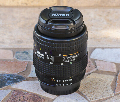 Nikon AF Nikkor 28-70mm f/3.5-4.5 Zoom Lens in EX Condition