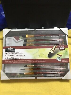 Royal & Langnickel Essentials Watercolor Art Set 32 Pieces