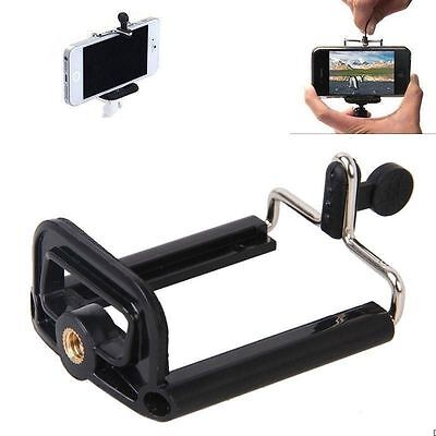 Camera Stand Clip Bracket Holder Monopod Tripod Mount Adapter for phones wn