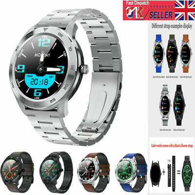 NEW HD Display Bluetooth Smart Watch Blood Pressure Men Women For Android iphone