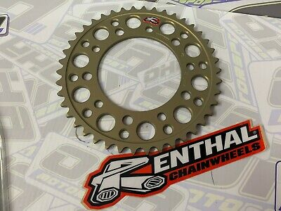 NEW Renthal Hard Anodised Rear Sprocket for Yamaha YZF R1 2015-2020 525 44T 44