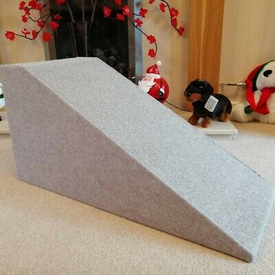 32cm High Pet Ramp in All Grey - Unique