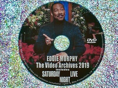 EDDIE MURPHY Video Archives 2019 Volume I DVD Saturday Night Live Dave Chappelle
