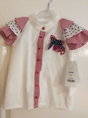 BNWT Little Darlings Top And Skirt age 10 RRP £165
