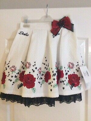 BNWT Little Darlings Skirt And Top Age 9