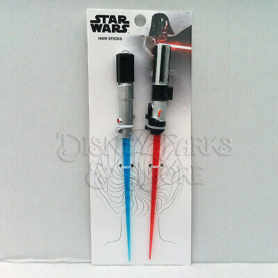 Disney Parks Star Wars Darth Vader Luke Skywalker Lightsaber Hair Sticks
