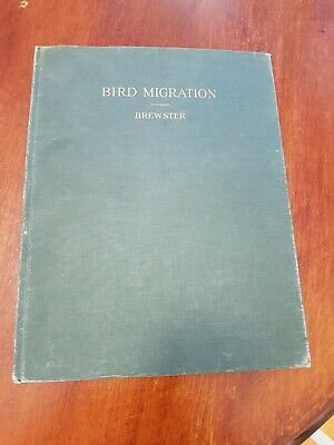 Rare Bird Migration Brewster. Memoirs of the nuttall ornithological club 1886
