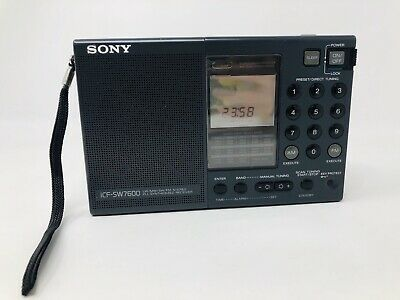 Sony Radio Portable Shortwave World Band Receiver ICF-SW7600 A001