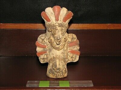 Pre Columbian, Pottery, Test, W/Mex, Jalisco or Micho. Funerary Urn -600 +200