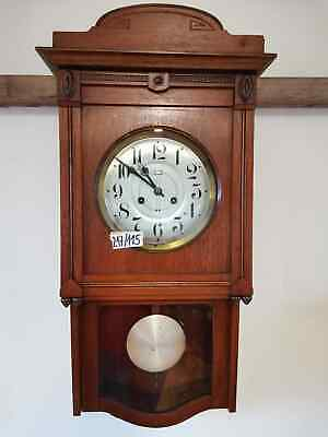Vintage Retro Wooden Wall Clock Pendulum Antique